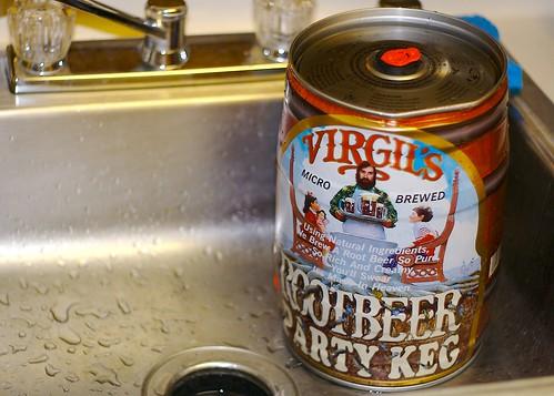 I bought a keg...