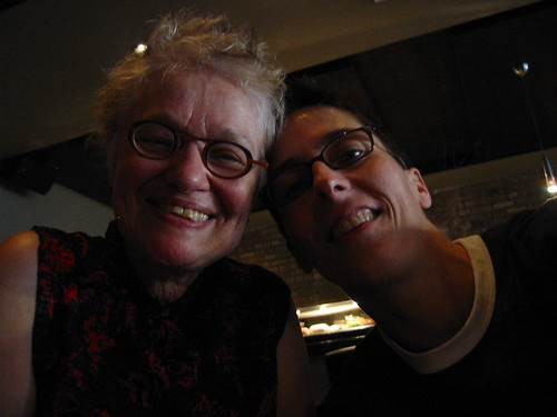 Nicole Hollander and me