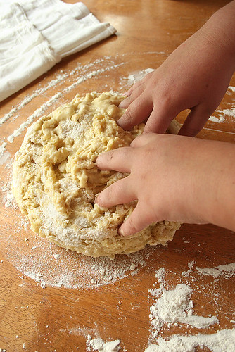 Challah Project: Baking with your kids - 9