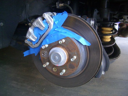 how to paint your brake calipers w pics page 4 mazda 6 forums. Black Bedroom Furniture Sets. Home Design Ideas