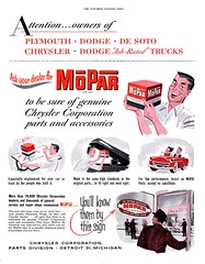 Ask your dealer for MoPar