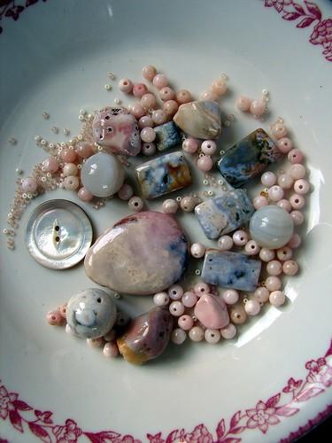 creating a Pink Opal Neckpiece2