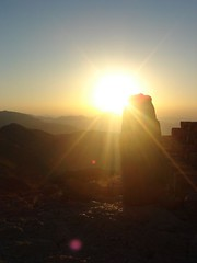 Sunrise from mt. Nemrut