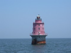 Miah Maull Shoal Light in Delaware Bay