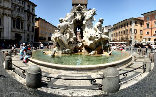 Piazza Navona - Fountain of Four Rivers