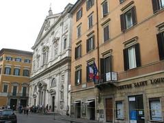 Italie- Rome- Eglise Saint Louis des Français CP : Etienne Jacheet