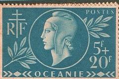 Philatélie France Libre - Océanie. Coll. Jean-Christophe Teva Shigetomi