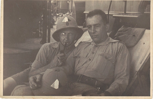 Officiers de la Légion Erythrée- Coll. S. Fercoq