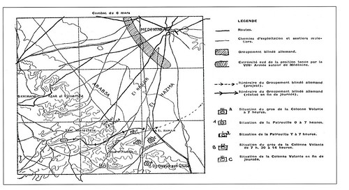 Tunisie-Medenine - RMSM - Carte du 6 mars 1943