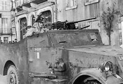 Décembre 1944 - Le RFM à Guéret (Creuse) - posté par Simon Militaria sur FB 1ère DFL