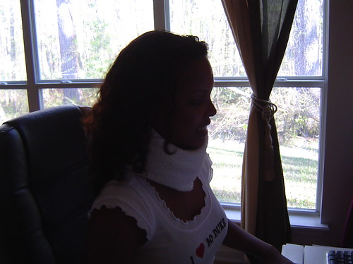 Towel for a neck brace