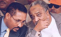 Al-Amoudi with Unelected Mayor of Addis Ababa