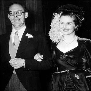 Denis, then 36, married 26-year-old Margaret Roberts in London in December 1951