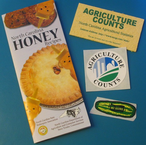 HONEY BROCHURE AND STICKERS!!!