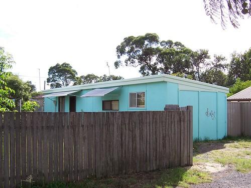 Blue 50s cabin