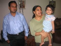 Me, amma and Kaushik chitappa