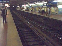 Dans le métro, à Buenos Aires...