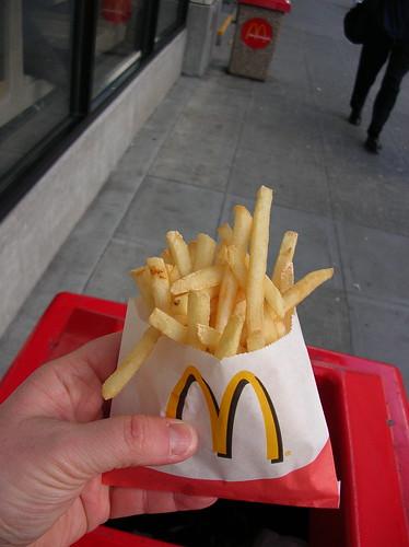 mcdonalds fries beef extract