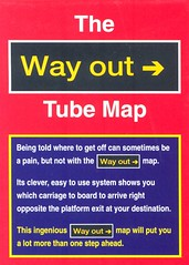 Way Out Tube Map