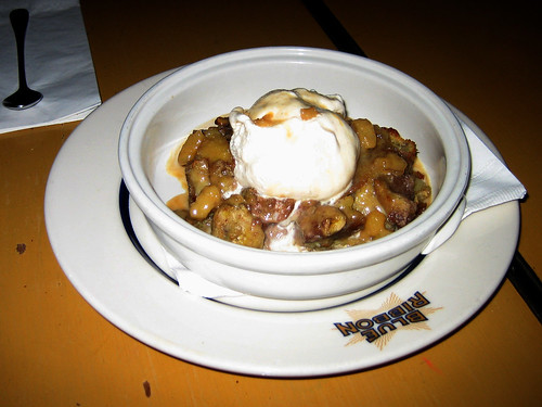 Banana Walnut Bread Pudding