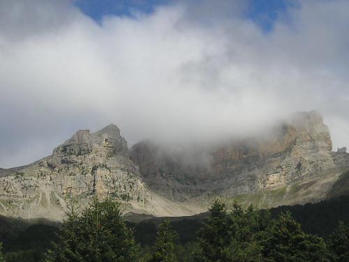 Vistas del valle de Hecho.