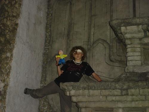 FS climbs the mural