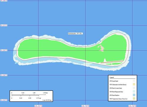 Nukutavake Island - Map