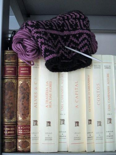 bibliophile sock