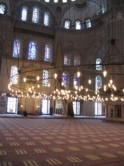 Inside The Blue Mosque (Sultanahmet)