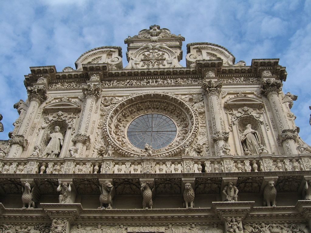 Dean christakos deep into southern italy lecce for Italian baroque architecture