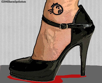 Let's look at three hot tattoos for women today: Ankle Tattoos
