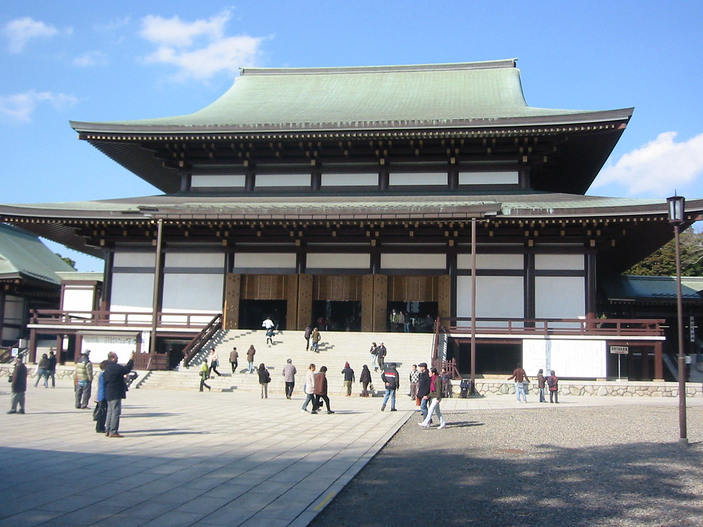 The great hall of Shinhoji, Narita