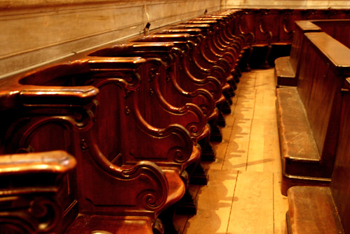 Choir Chairs in the Doma of Florence