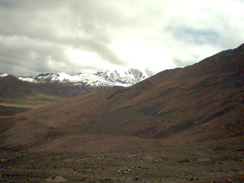 En route vers Chacaltaya