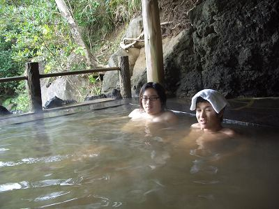 20051218 裏見ヶ滝温泉