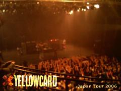YELLOWCARD Japan Tour 2006