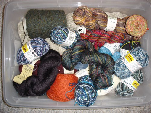 Sock and Lace Yarns