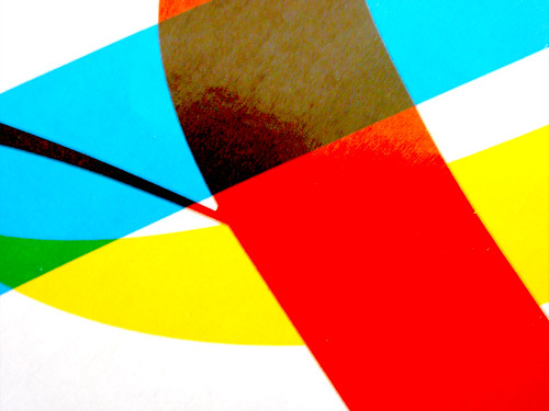 overprinted colours
