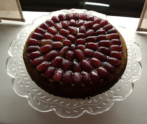 greek grape cake