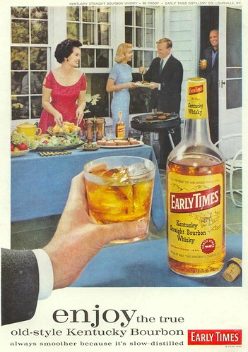 Vintage Ad #28 - Enjoy Before Everyone Drinks Too Much Old-Style Kentucky Bourbon