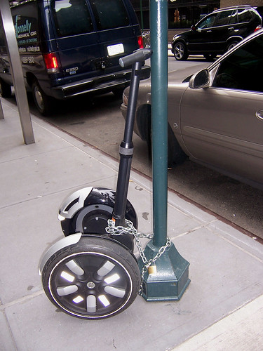 segway chained