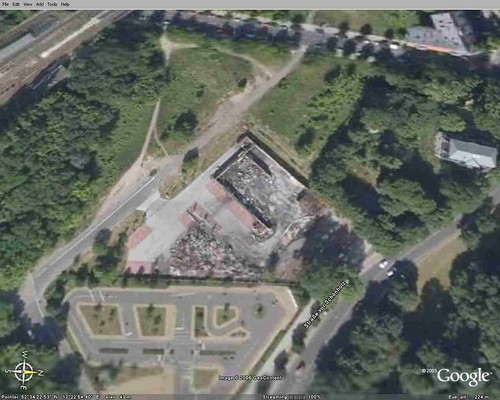 Google Earth - Ruine Aldi Berlin-Pankow