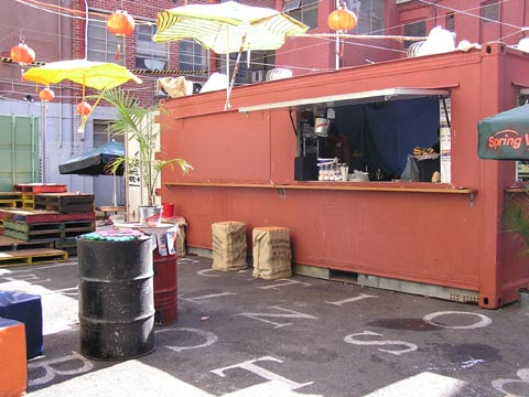 Section 8 Container Bar, Melbourne, Australia