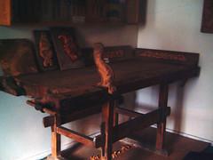 Sultan Abdülhamit'in marangoz masası