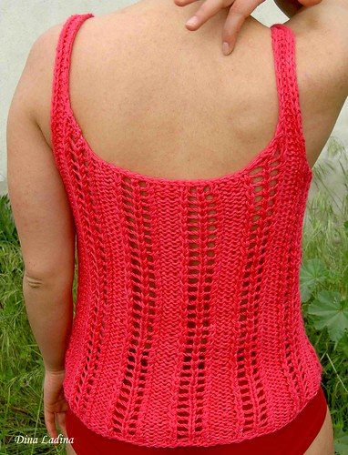 Top fuschia back
