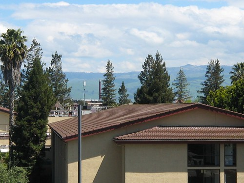Blue Skies!  Mountains!