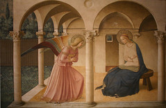 Frqa Angelico's Annunciation
