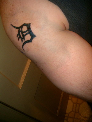 Thus, on February 22 of this year, I got my first tattoo. Here it is: