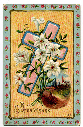 Postcard: Easter greetings 1912
