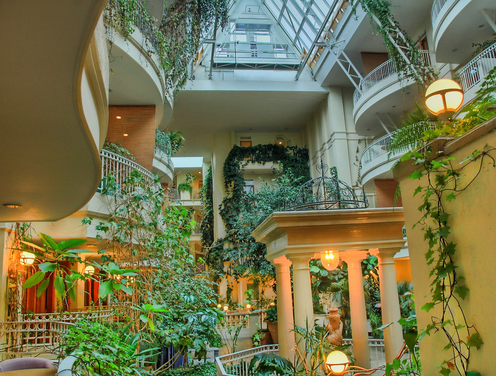 The Atrium of the Sefton